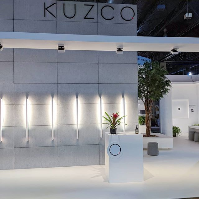 @lightfair_international wrapped up last week, and what a show it was! @kuzcolighting walked away with a best booth award for the second year in a row and we couldn't be happier!
