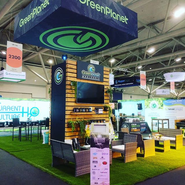 #liftcoexpo is Toronto is over, and we are back in the shop on the next project. Thanks to our wonderful clients @greenplanetnutrients @stellar.wholesale and @westcoastgifts for another great show!