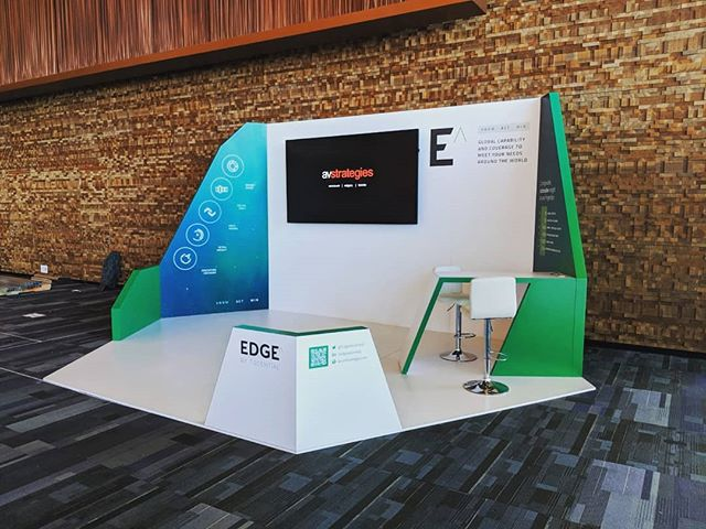 A little throw back to two booths we built for the #cgfsummit that was held here in Vancouver last month.