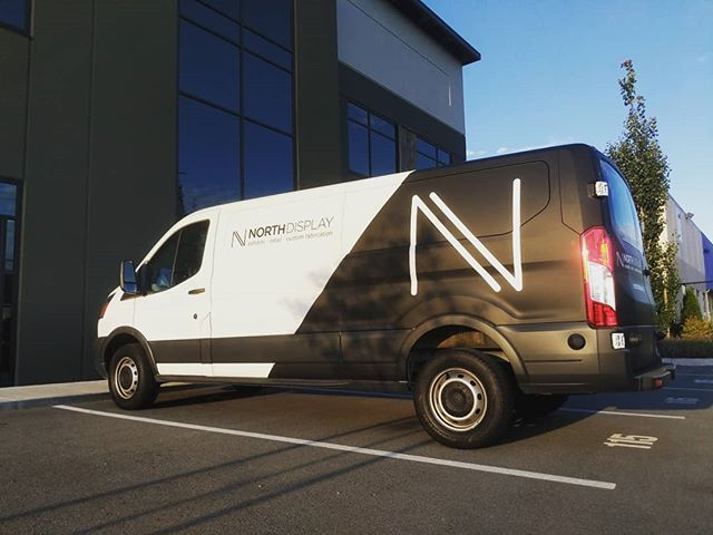 Pretty stoked with the amazing vinyl job on the new van! Big shout out to our good friends @vancouver.sign.group for their help!