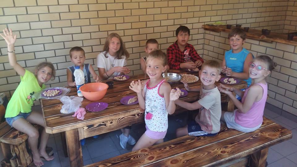 Children having fun together.