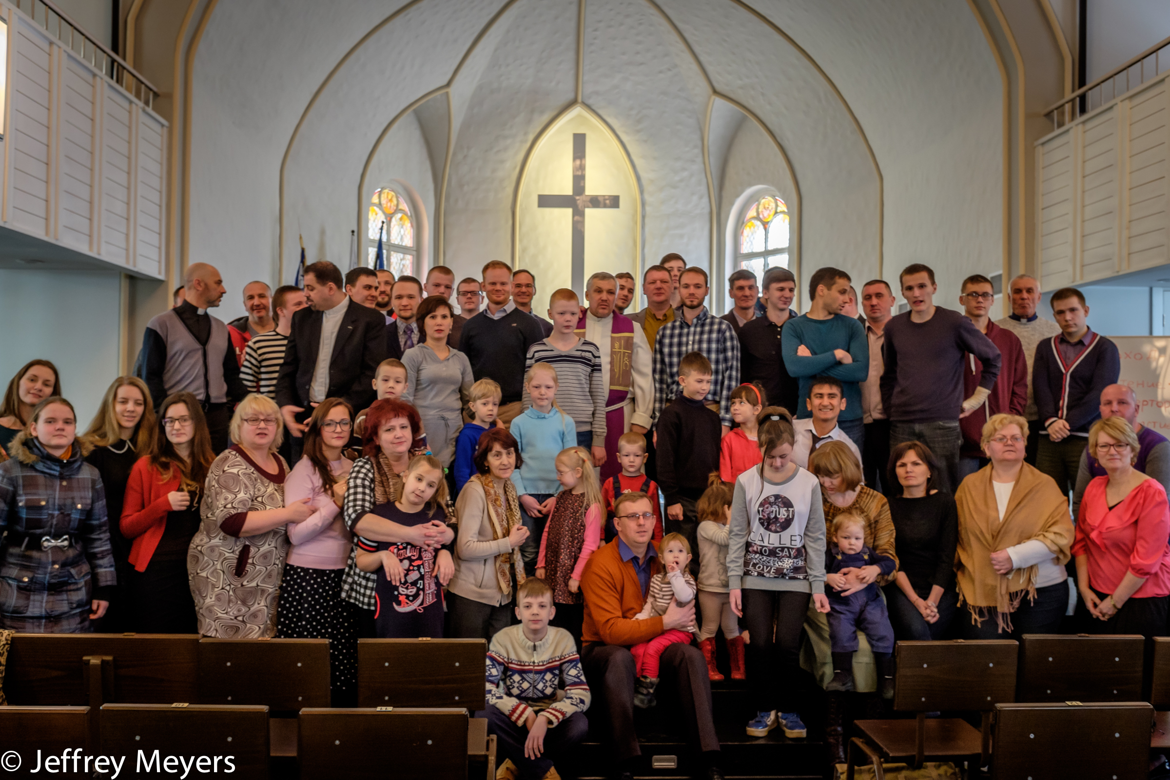 Reformed Presbyterian Church of St. Petersburg with Biblical Theological Seminary Students and Visiting Professors, 2015