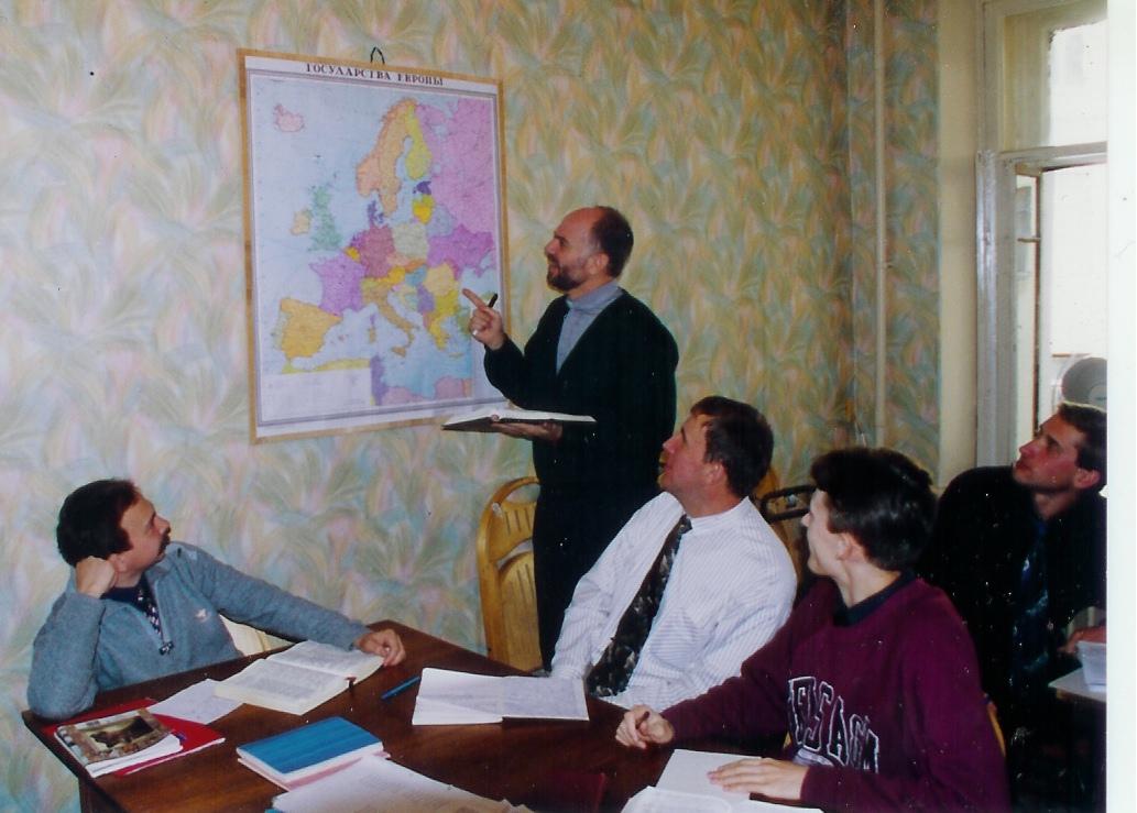 Blake teaching on history of Reformation