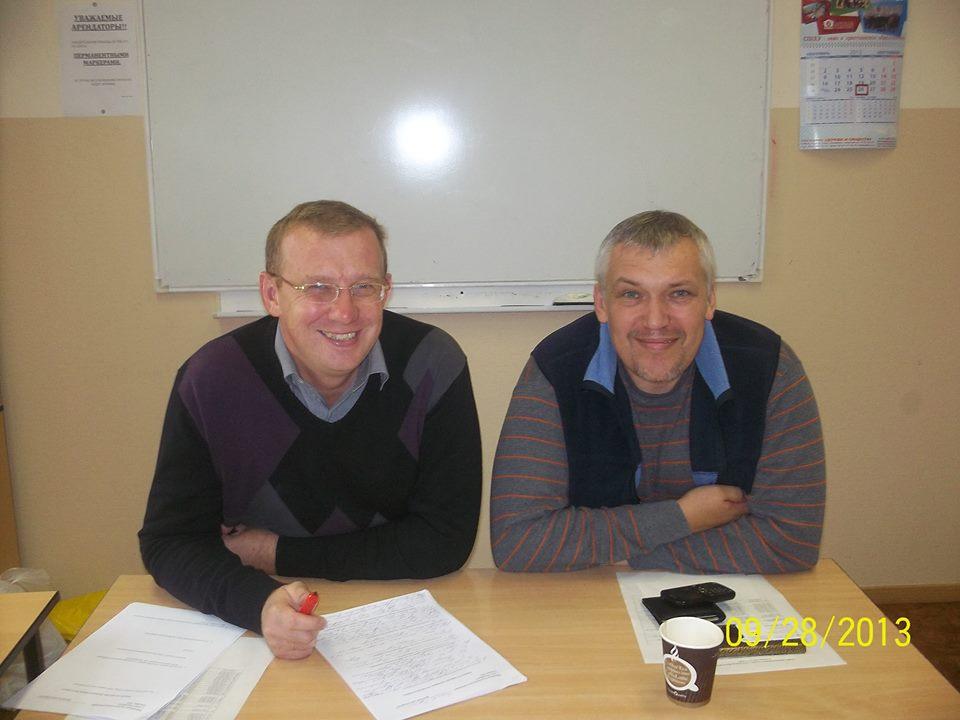 Evgeniy and Oleg