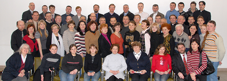 Conference on Christian Education as a foundation of the civilization. March 2008.