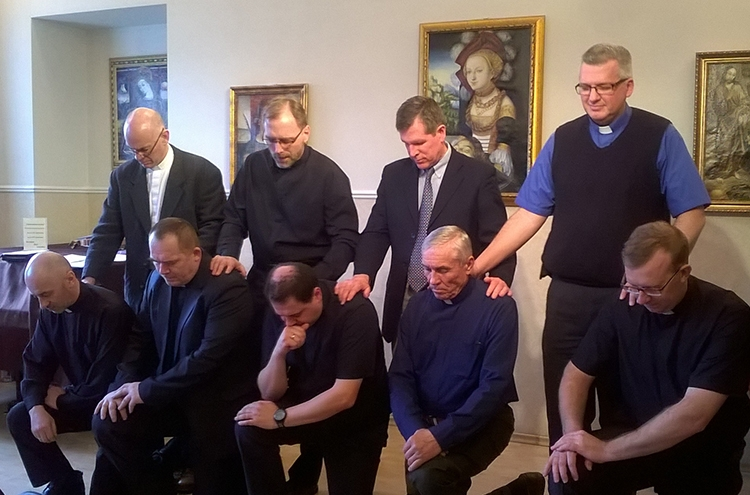 Ordination of new ministers.