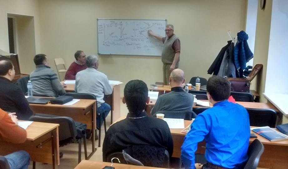 Brian Nolder teaching.