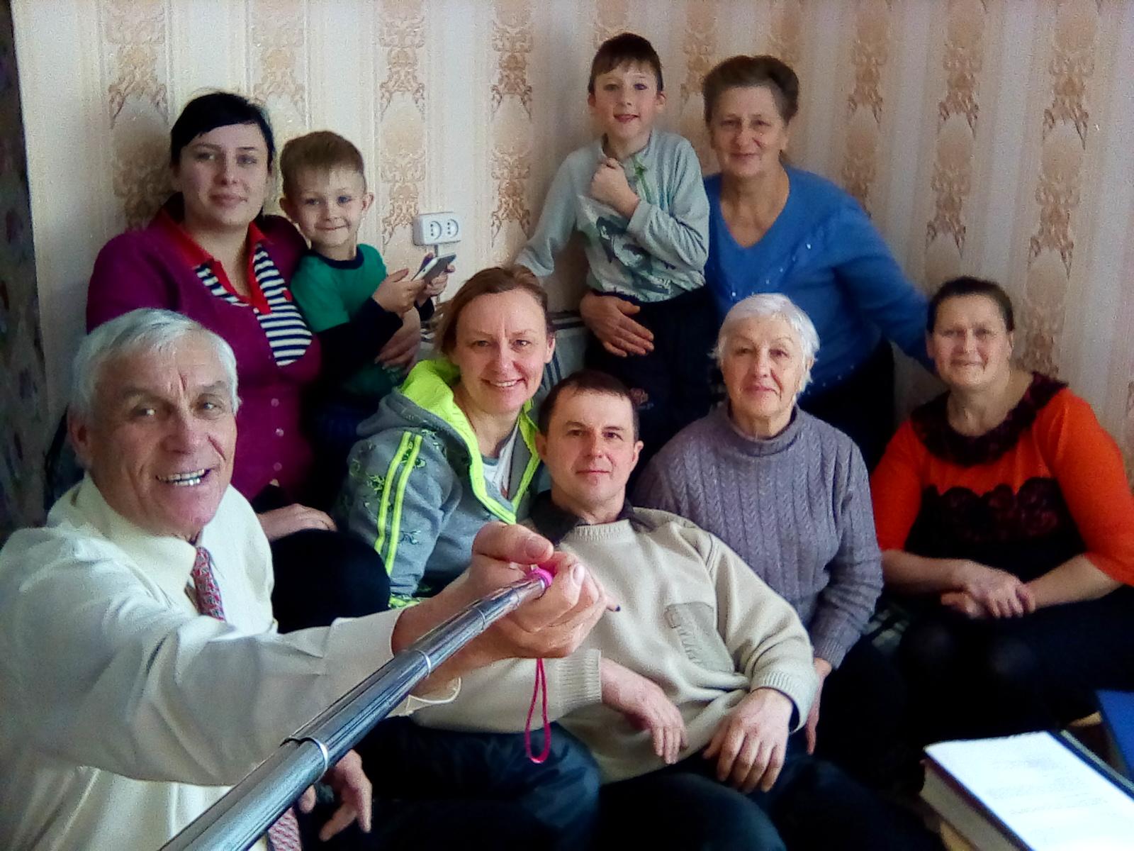 January 2018 - Pastor Kirill on far left