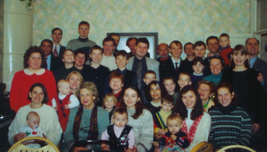 1999: Founding members of the Reformed Presbyterian Church of St. Petersburg