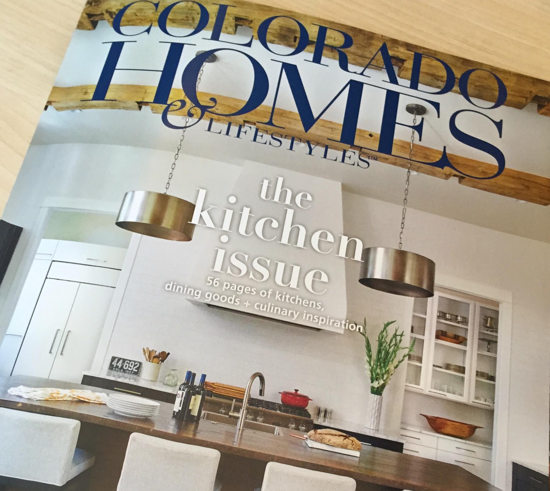 Colorado Homes Magazine Cover