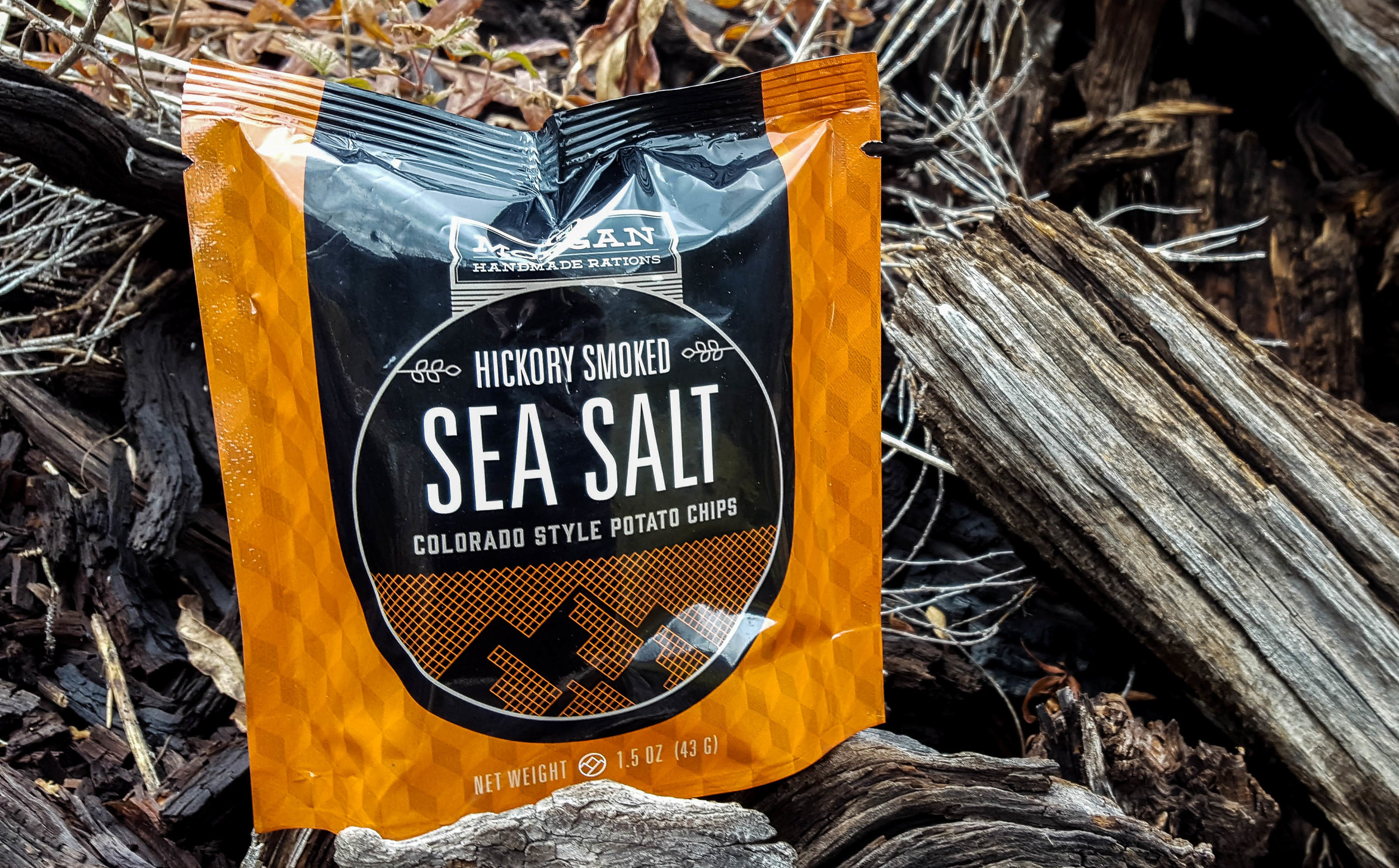 Hickory Smoked Sea Salt - Subtle smoke and lightly salted results in our version of potato bacon.