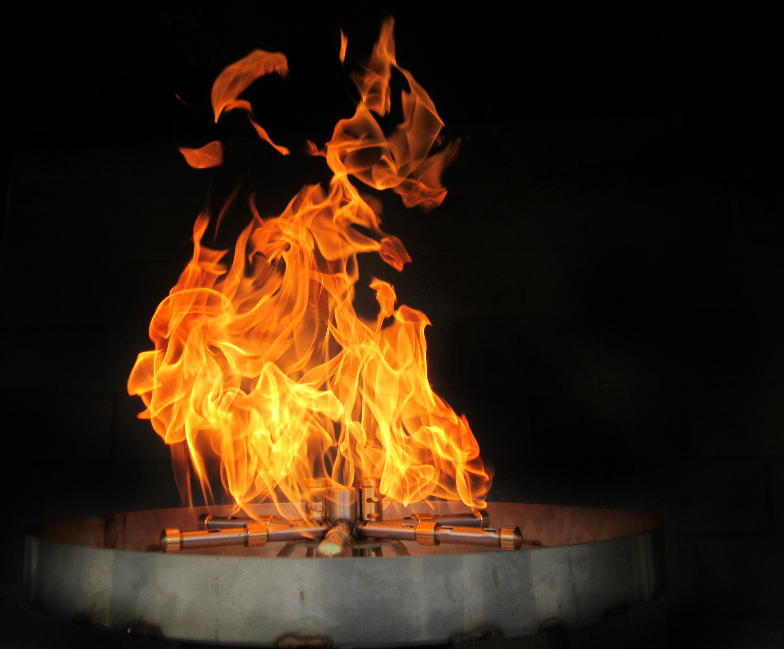 Perfect Flame® - Introducing the Torrent, Perfect Flame® Version 2. Available for round, square, linear, and custom applications.View Brochure>View Order Forms>KEY FEATURES:-Modular, customizable design-Brass water blockers