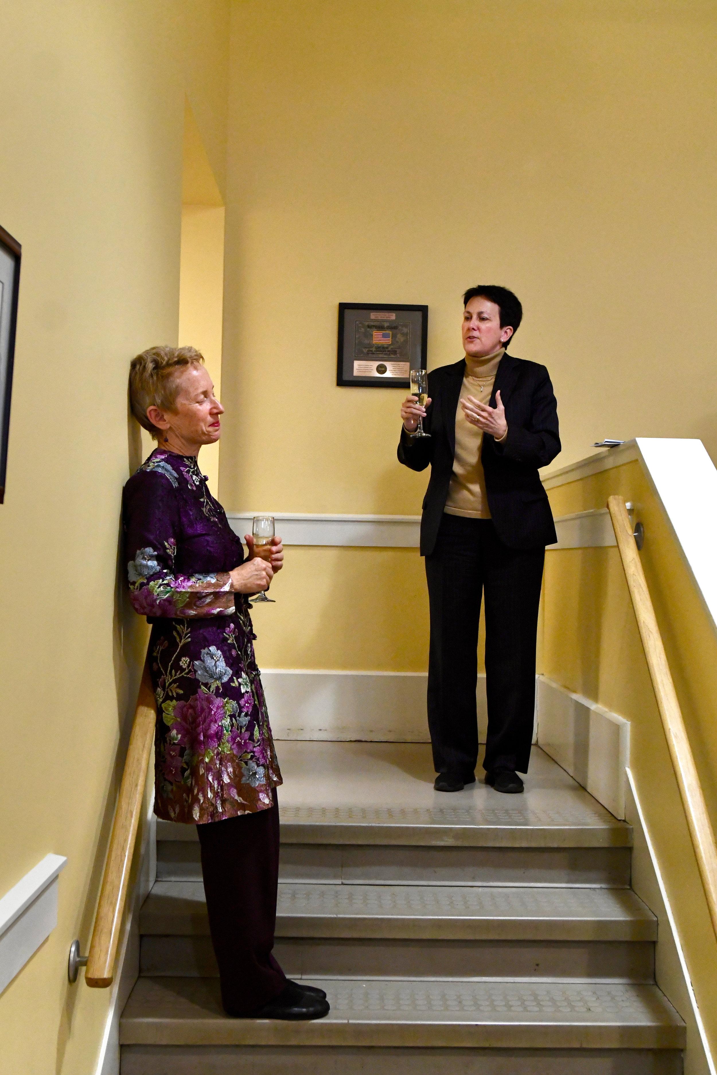 Jennifer Higdon toasts Linda