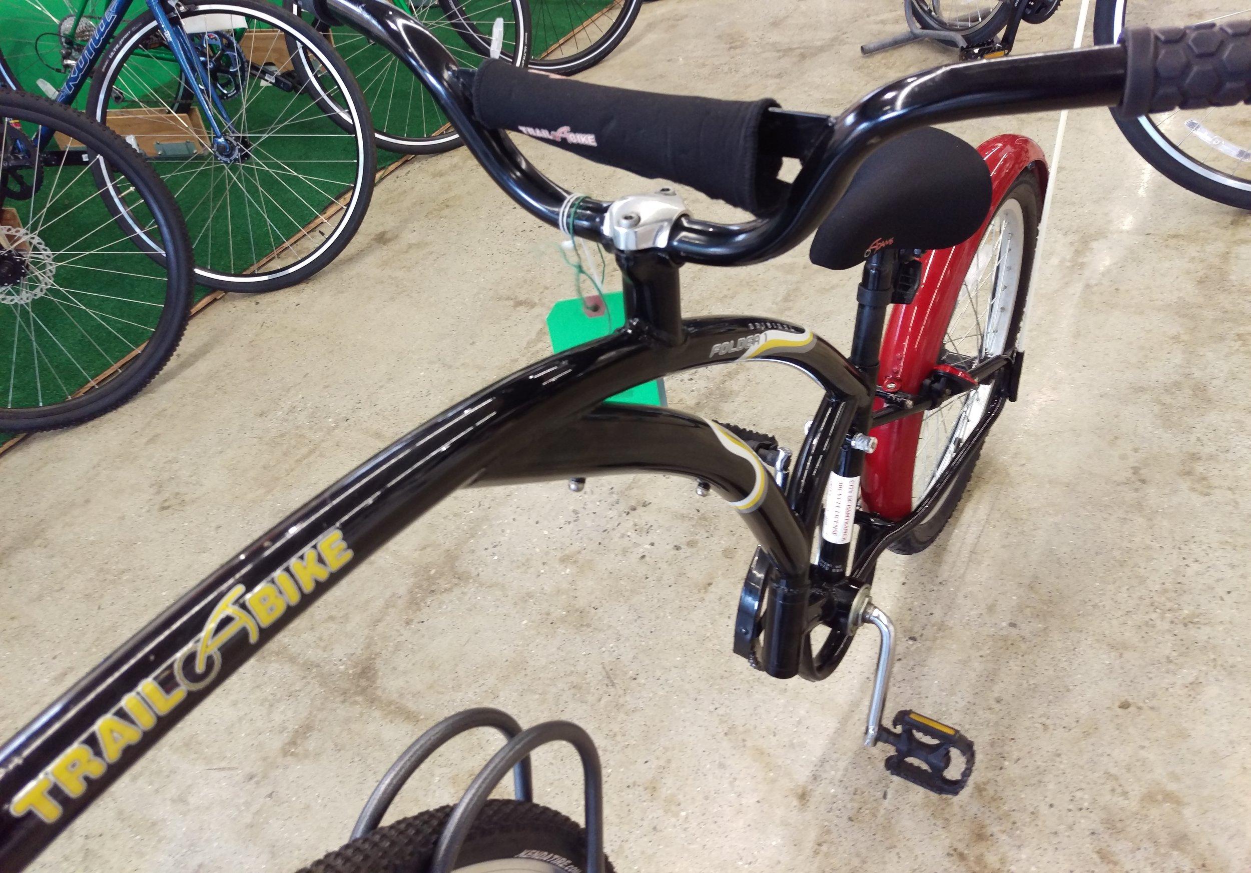"""Adam's Trail-a-Bike 20"""" $140"""