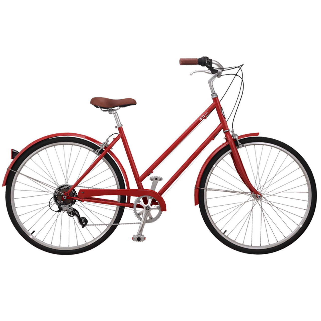 Brooklyn Bicycle Co. Franklin 7 S/M Red $500