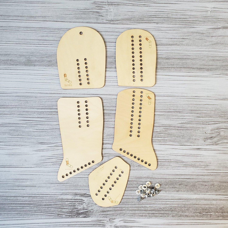 Pair Sock Blockers