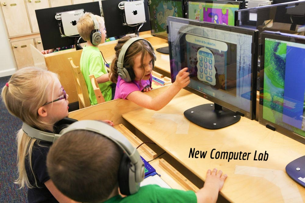Computer Lab added August 2018, designed for your child .