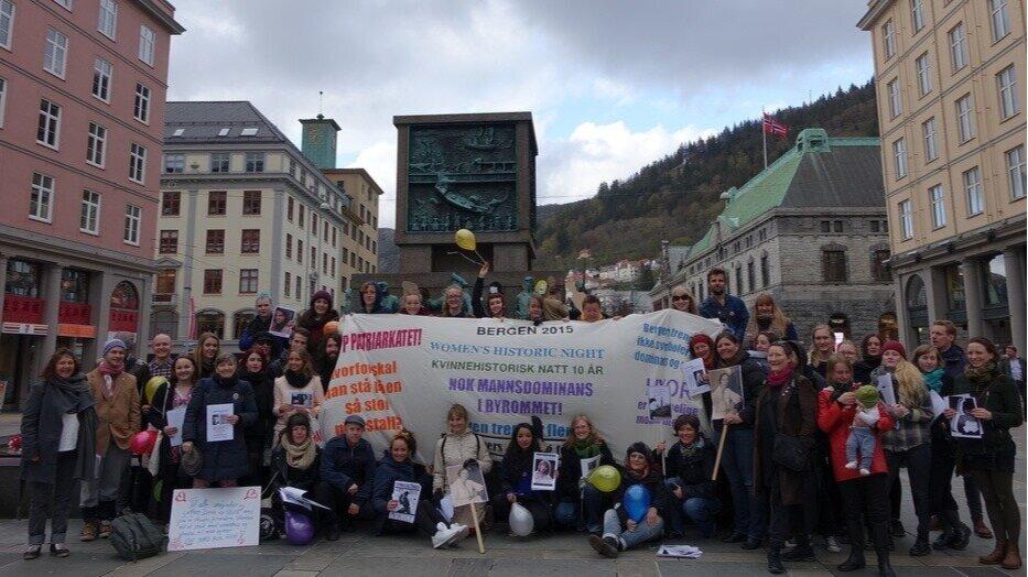 This is the 10th anniversary of the World Women's Historic Night / Kvinnehistorisk natt in Norway. 8 May 2015