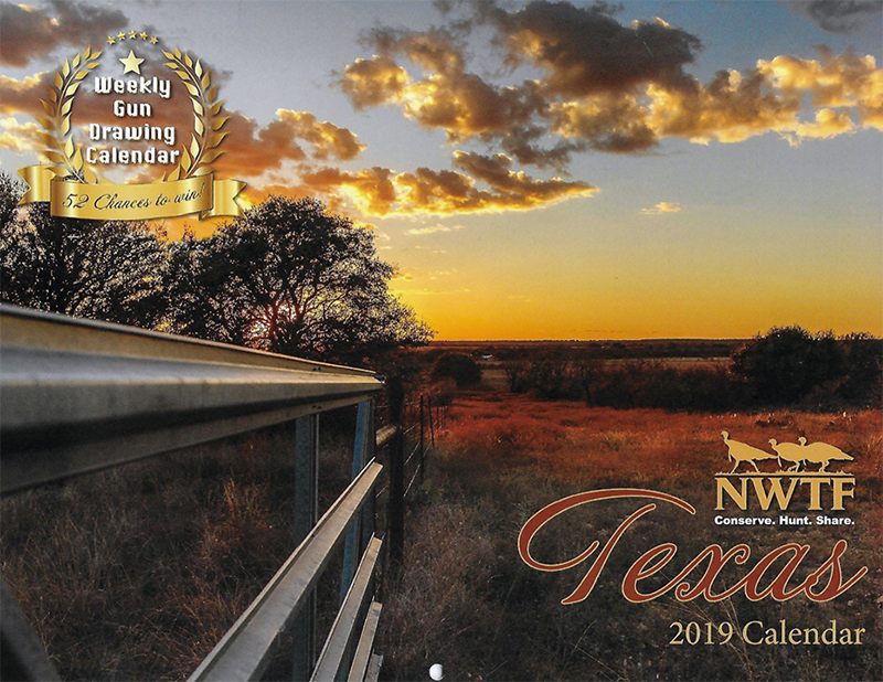 The 2019 Texas NWTF calendar is available now! - Order yours today!