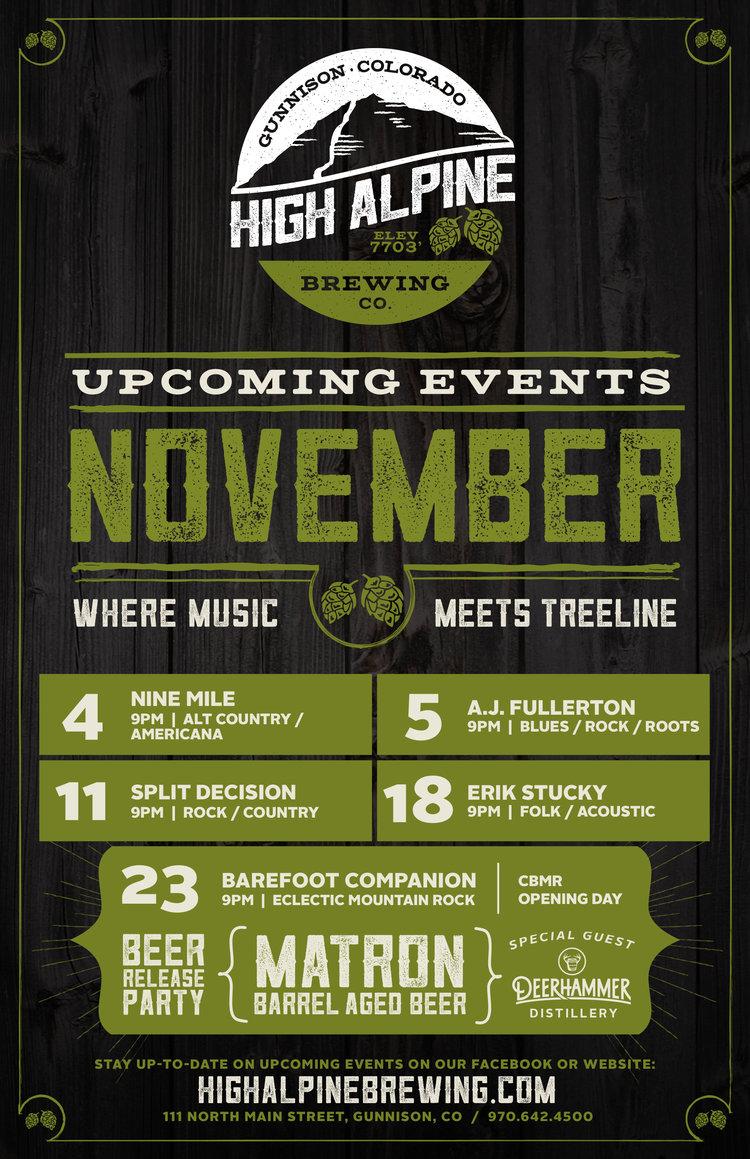 brewery event poster design colorado