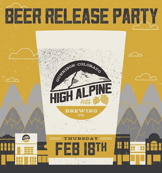 beer event poster design colorado