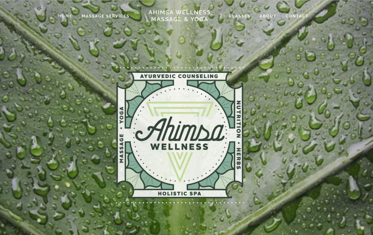 Ahimsa Wellness massage gunnison