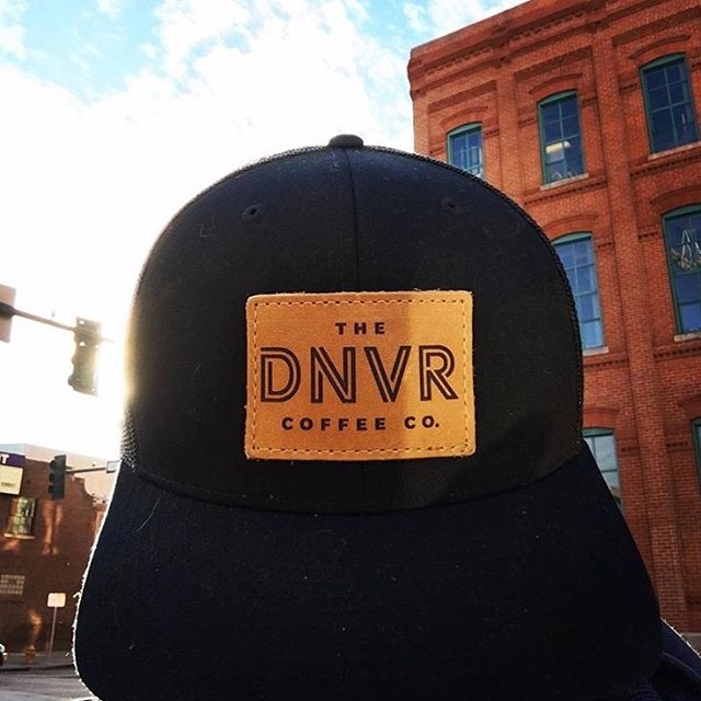 Fresh hat, fresh coffee. Hit up @thednvrcoffeeco for some tasty bean juice if you're downtown!