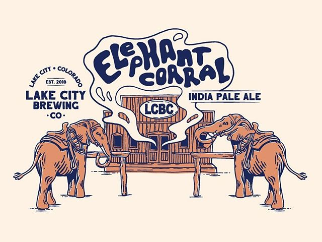 First piece of art for Lake City Brewing Company! T-shirts and pints available soon. Design by @maltron3030