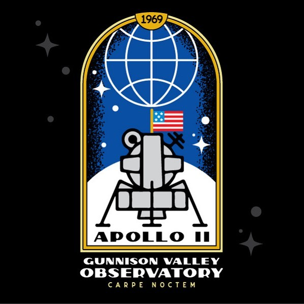 The observatory is OPEN! Talks every Friday and Saturday night through Sept 14. This summer we celebrate 50yrs of the Apollo conspiracy. Jk... or are we? Illustration @maltron3030