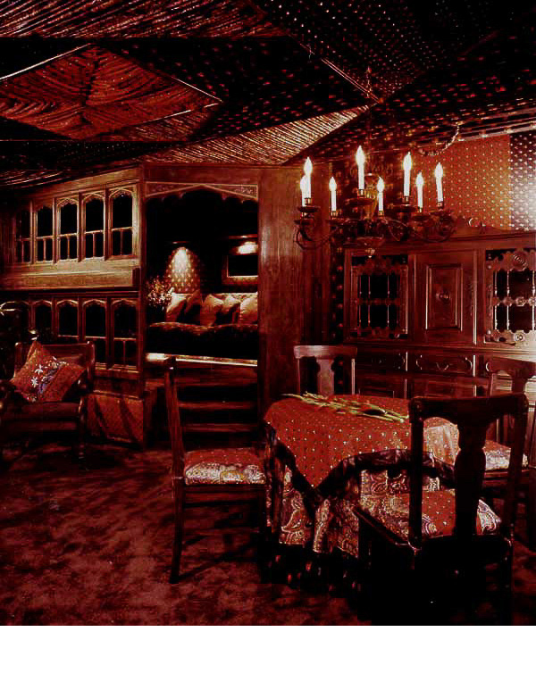 Gypsy Caravan was one of the 130 unique rooms in the Hotel Mutiny.