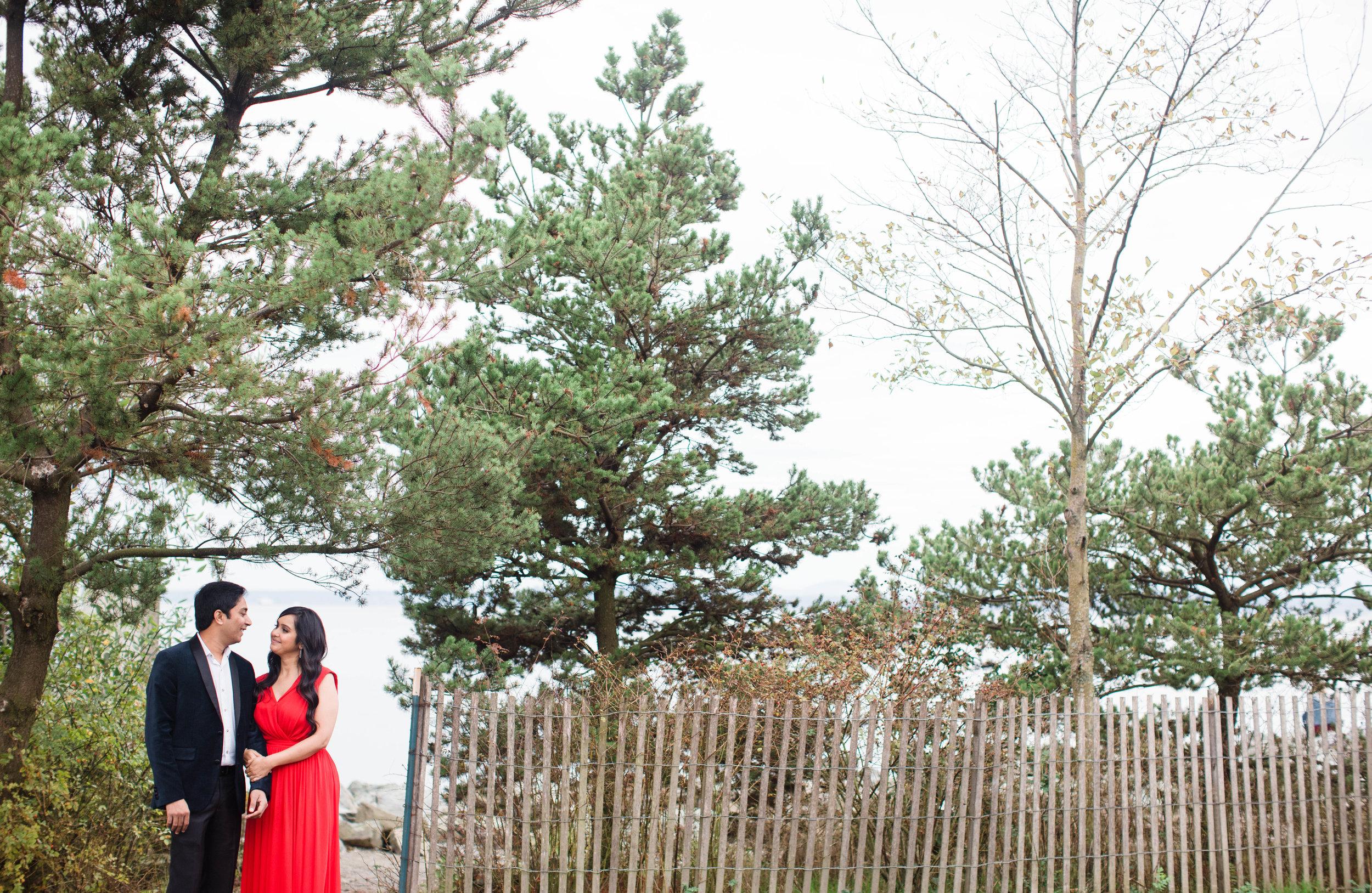 Olympic Sculpture parkEngagement photos by adina preston weddings. Affordable Seattle wedding Photographer