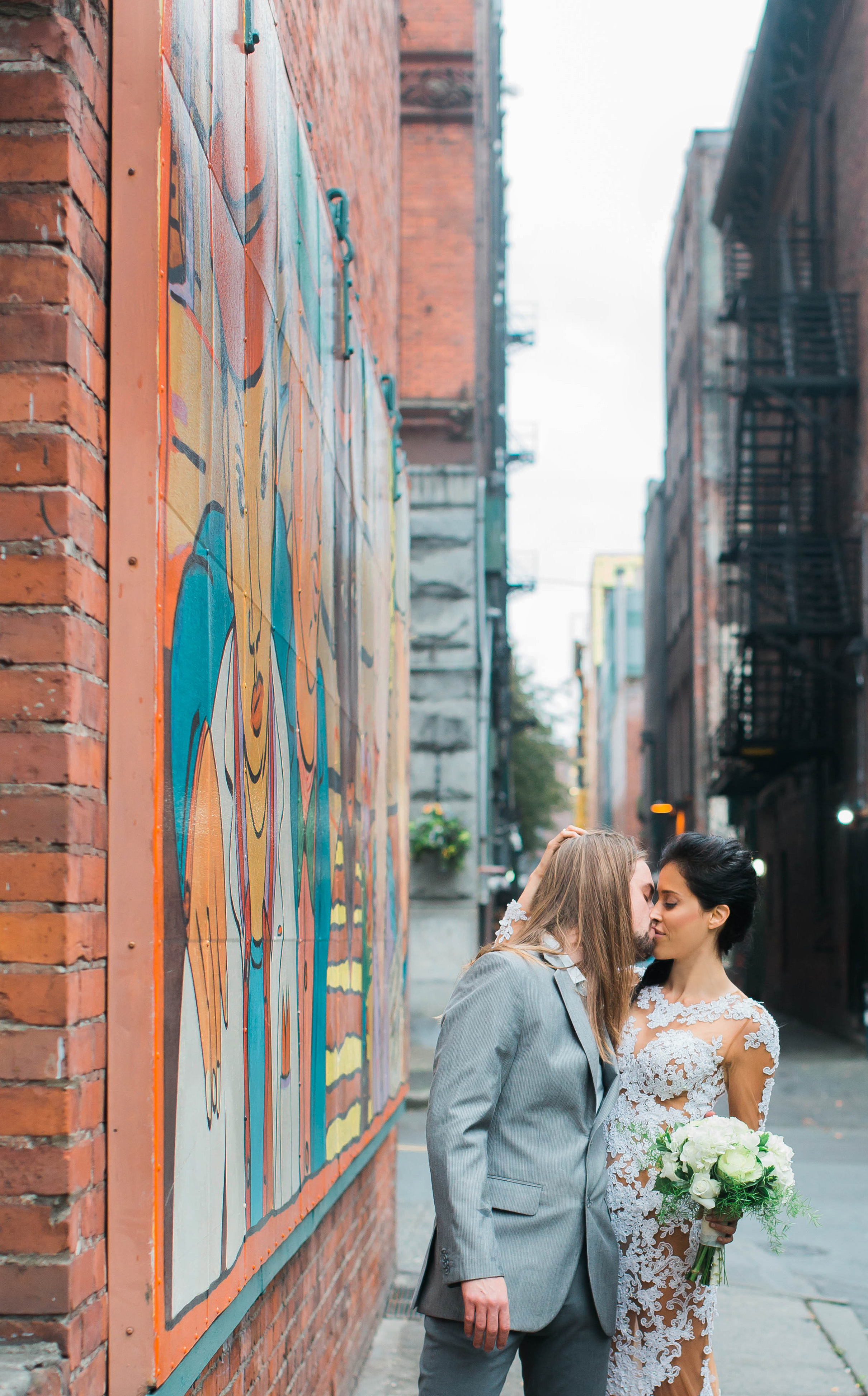 Pioneer Square Engagement Photos