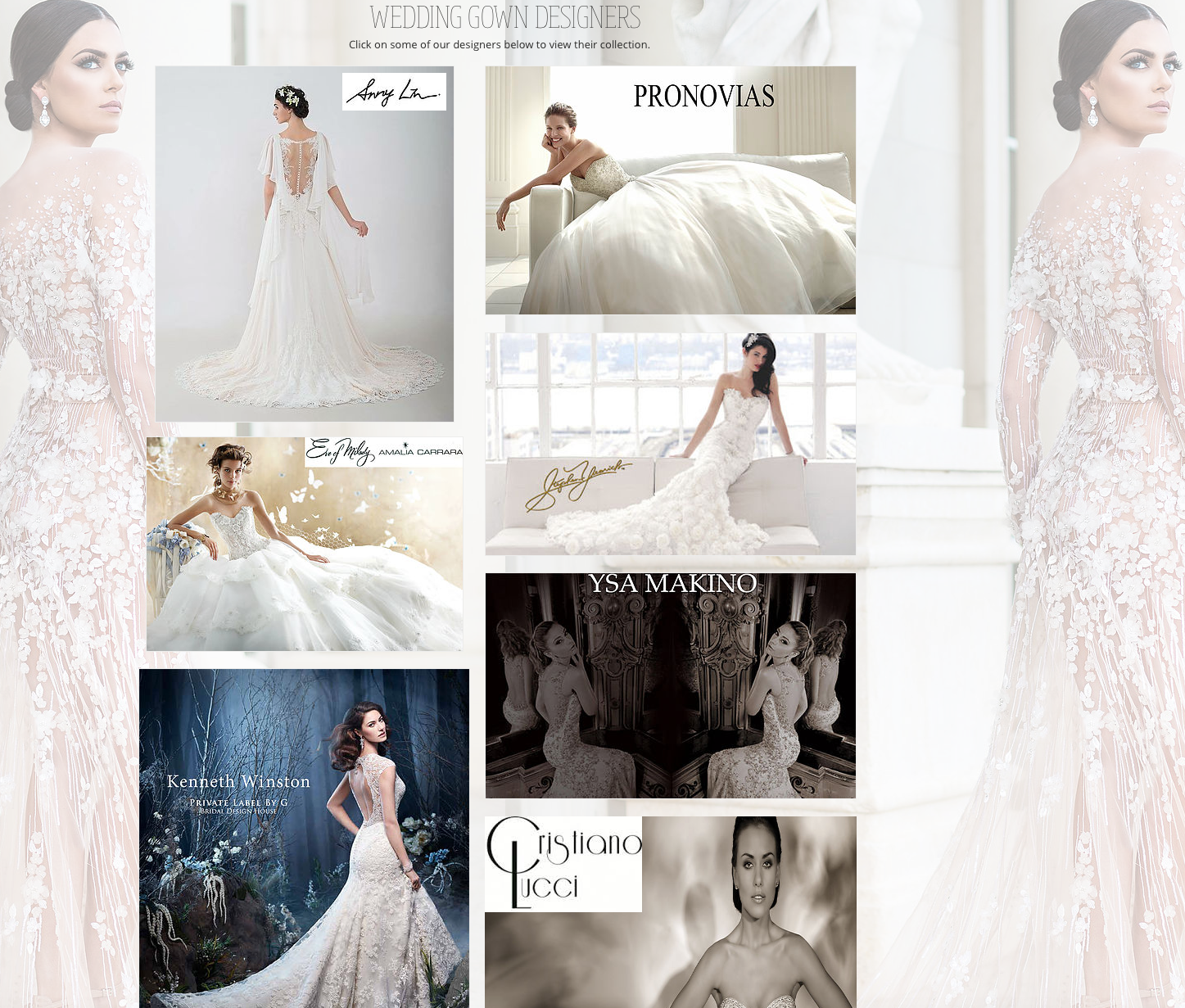 """MEA MARIE BRIDAL  ATELIER   SEATTLE'S PREMIER COUTURE BRIDAL EXPERIENCE      www.meamarie.com     MeaMarie Bridal Atelier is a Seattle based bridal couture studio featuring the world's leading fashion designers. We work with you by appointment on a one-to-one basis to ensure that you will enjoy the experience you deserve.   MEA MENDEZ  - My name is Mea Mendez and my love for the bridal industry began in 1998 when I had the opportunity to work with two sisters; both gifted designers who created all of their own dresses. MeaMarie Bridal Atelier is another dream come true because now we are able to offer Haute Couture designs from around the world.  All of us at MeaMarie are delighted to become part of this special time in your life and it's our goal to help make your dreams come true on your big day!   RACHEL WITT  - I am Rachelle Witt, the store Director for MeaMarie Bridal Atelier. As a young girl I watched my mother, a gifted seamstress, meticulously hand stitch amazing wedding dresses. When I turned fourteen I was the youngest assistant """"hired"""" by a local bridal salon. At sixteen, I became a prom consultant, and by seventeen I was modeling and involved in fashion and trade shows. Needless to say, I love this business!"""