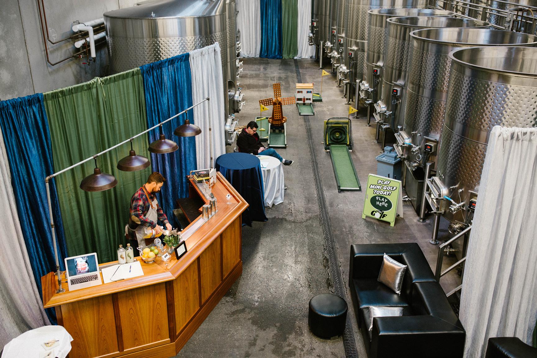 Novelty Hill - Jannuik Winery, Woodinville, Washington