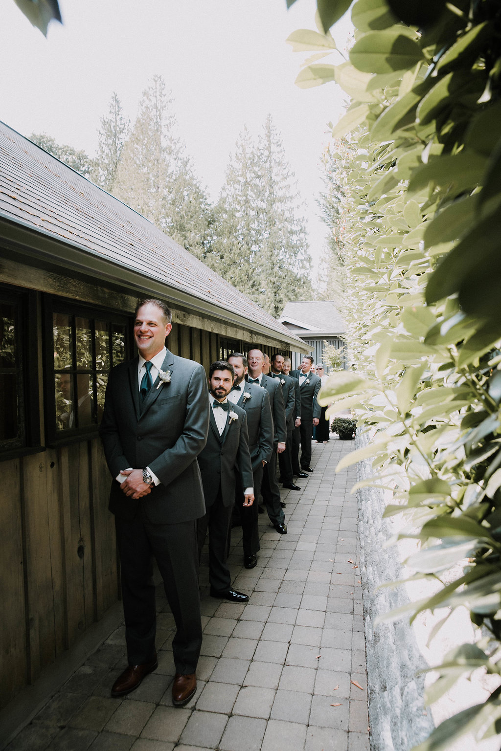 green gates at flowing lake wedding in snohomish by seattle wedding photographer adina preston
