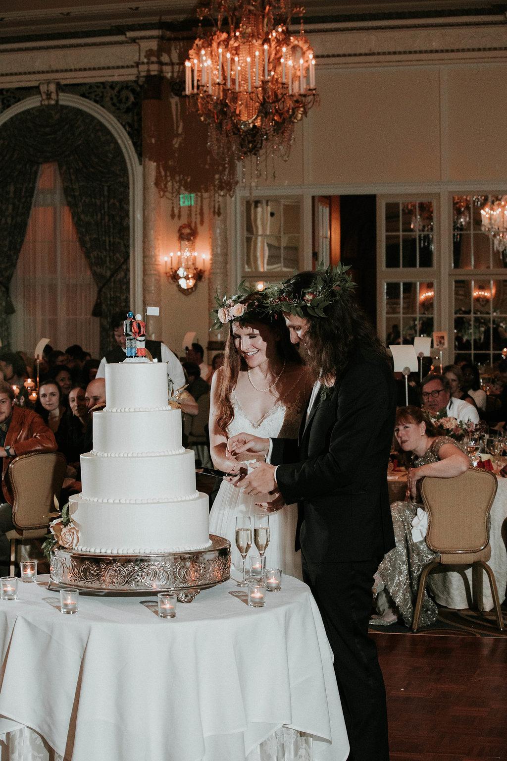 Fairmont Olympic Hotel Wedding Photos, Seattle Hotel Wedding by Adina Preston Photography
