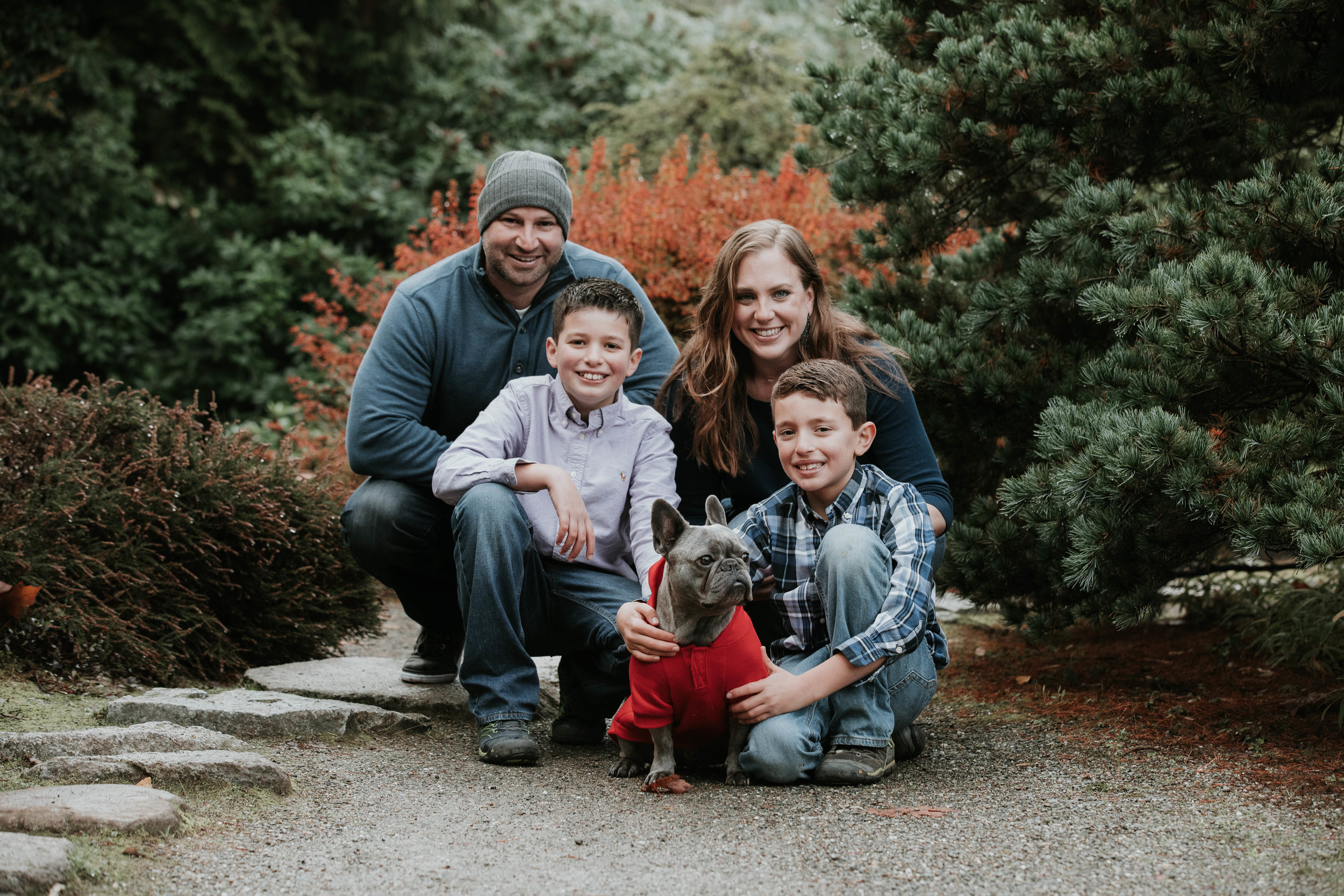 kubota garden family session with Adina Preston Photography