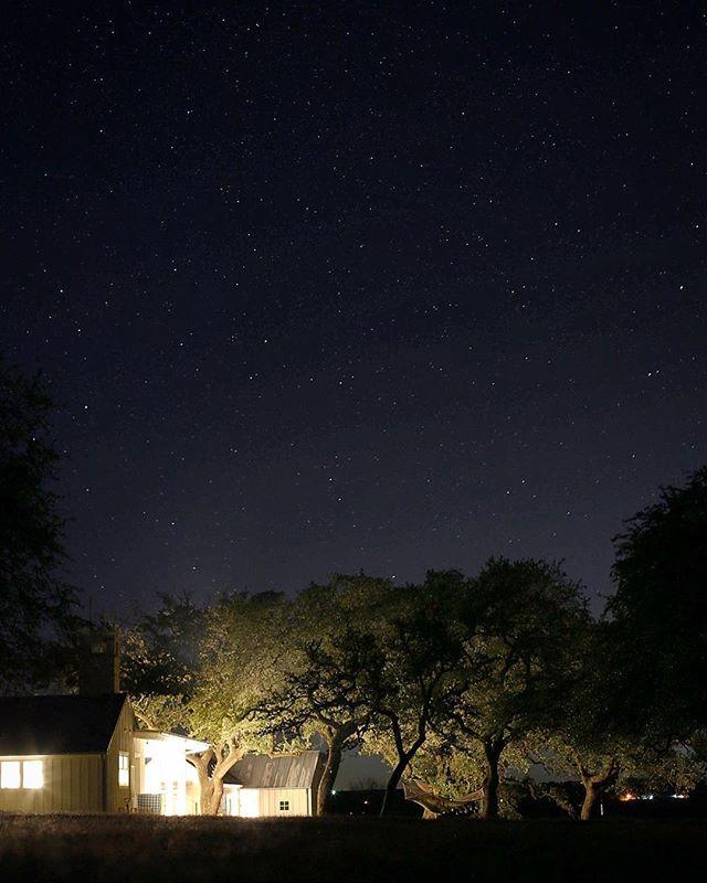 Nighttime in Texas