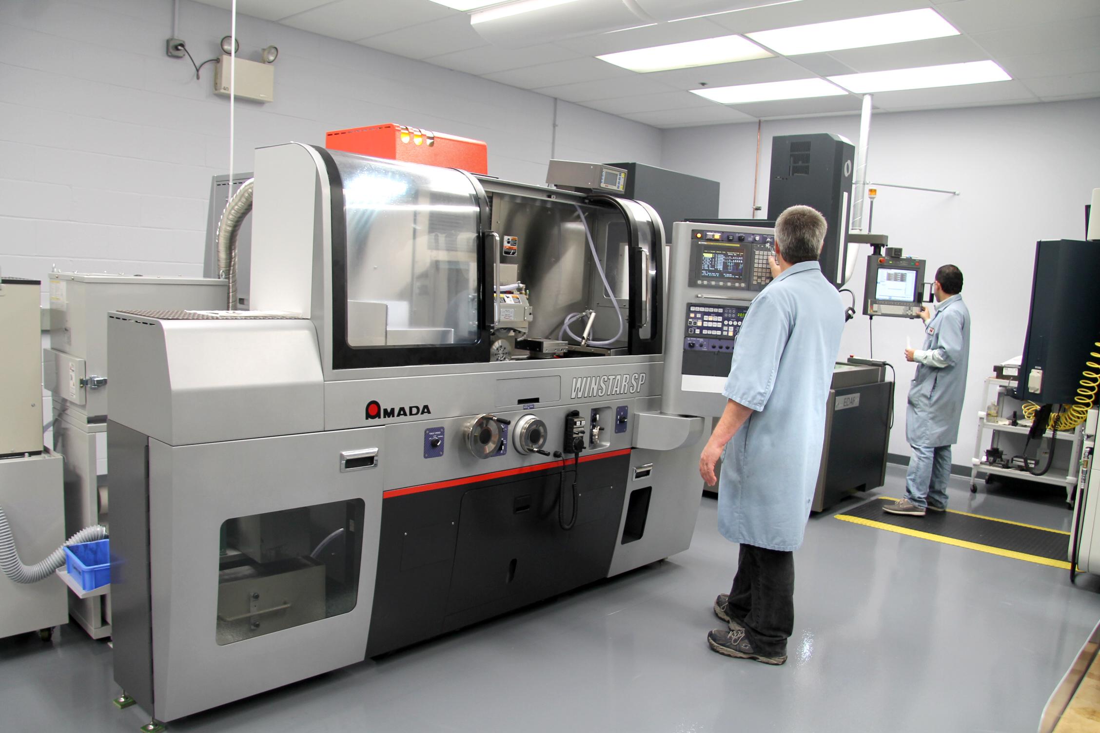 Weiss Aug's New CNC Technology Center