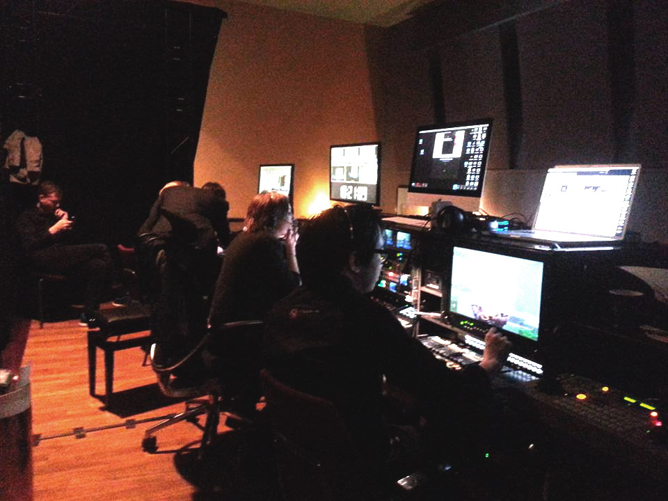 Working Live with the Oslo Freedom Forum Production Team!