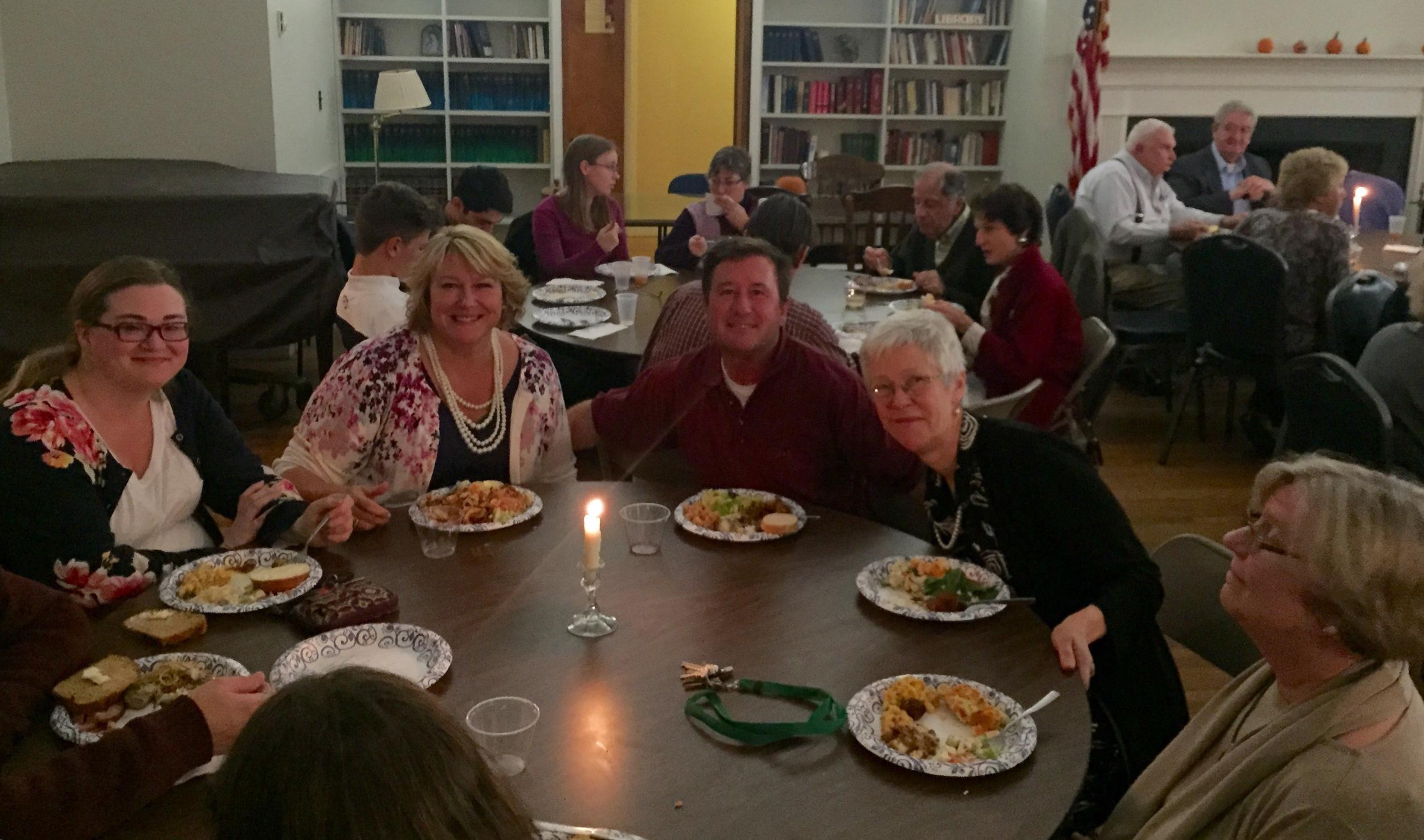 Pot Luck Dinner Guests
