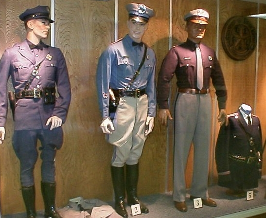 DPS Museum uniforms of yesteryear displays