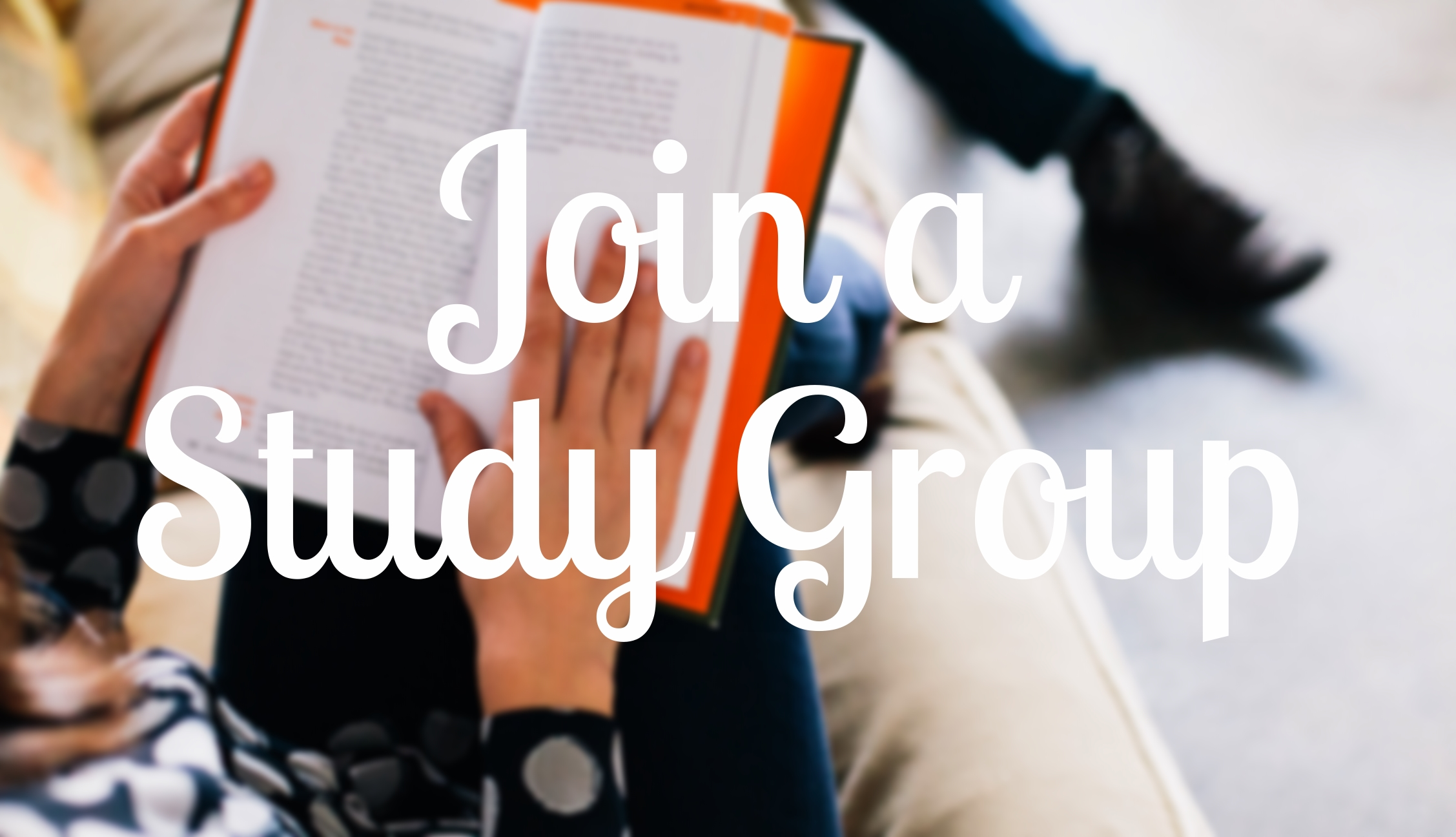 join a study group