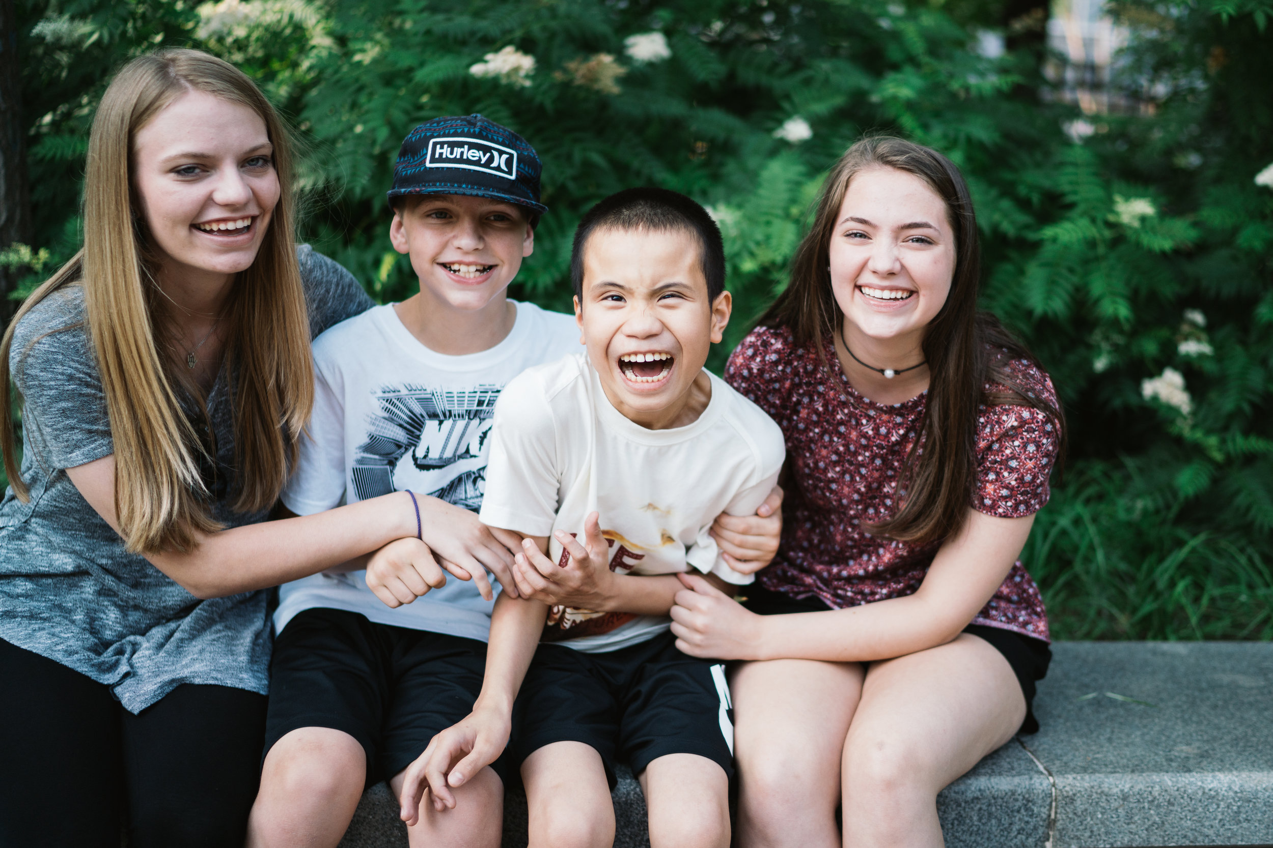 Harris Family - China