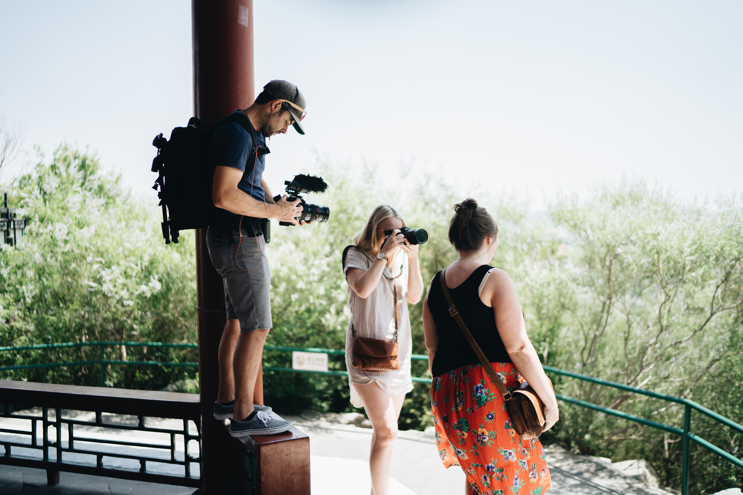 Behind the Scenes with Whitney + Nick - Travel footage and more!