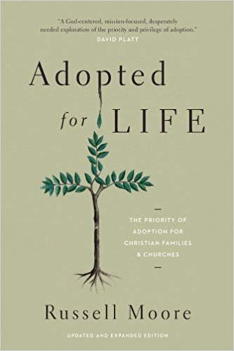 Adopted for Life: The Priority of Adoption for Christian Families and ChurchesBy Russell Moore - The doctrine of adoption—God's decision to adopt sinful men and women into his family—stands at the heart of Christianity. In light of this, Christians' efforts to adopt beautifully illustrate the truth of the gospel. In this popular-level and practical manifesto, Russell Moore encourages Christians to adopt children and to help other Christian families to do the same. He shows that adoption is not just about couples who have struggled to have children. Rather, it's about an entire culture within evangelicalism—a culture that sees adoption as part of the Great Commission mandate and as a sign of the gospel itself.