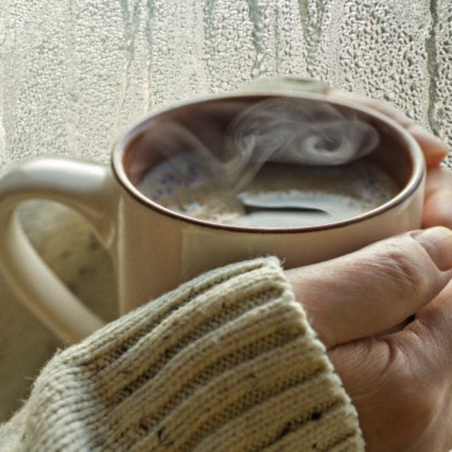 Nothing better on a crisp fall day than a warm cuppa.