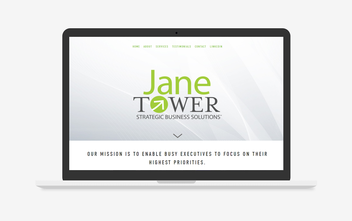Jane Tower Website Design