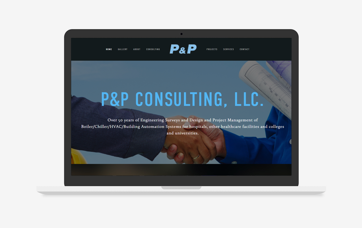 P & P Consulting, LLC Website Design