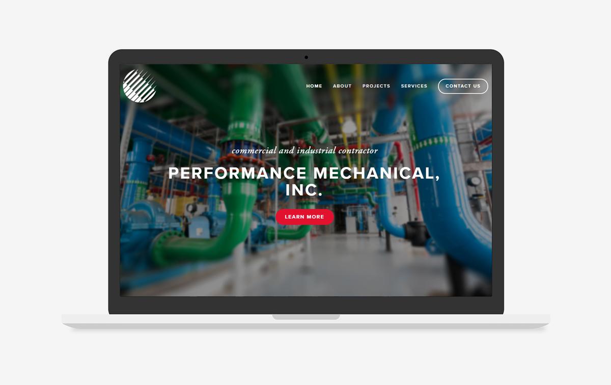 Performance Mechanical Inc Website